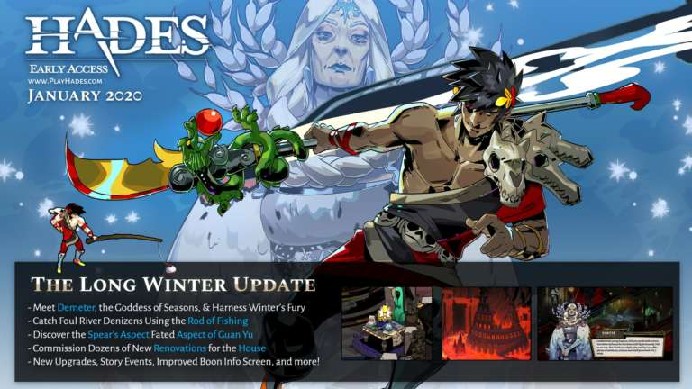 Hades Long Winter Update Patch Notes
