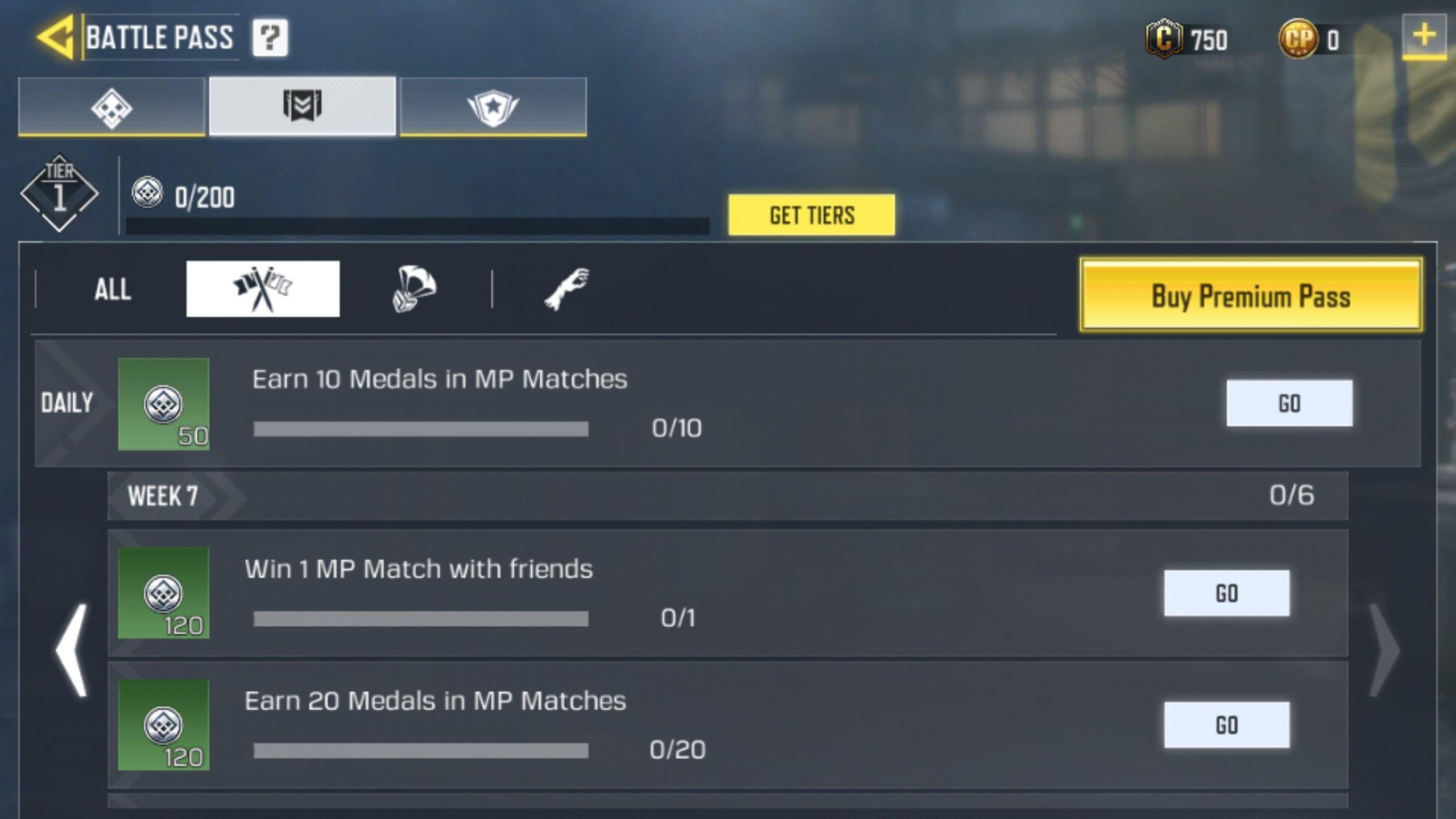COD Mobile Season 2 Week 7 Challenges