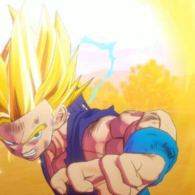 Dragon Ball Z: Kakarot Sun Glare