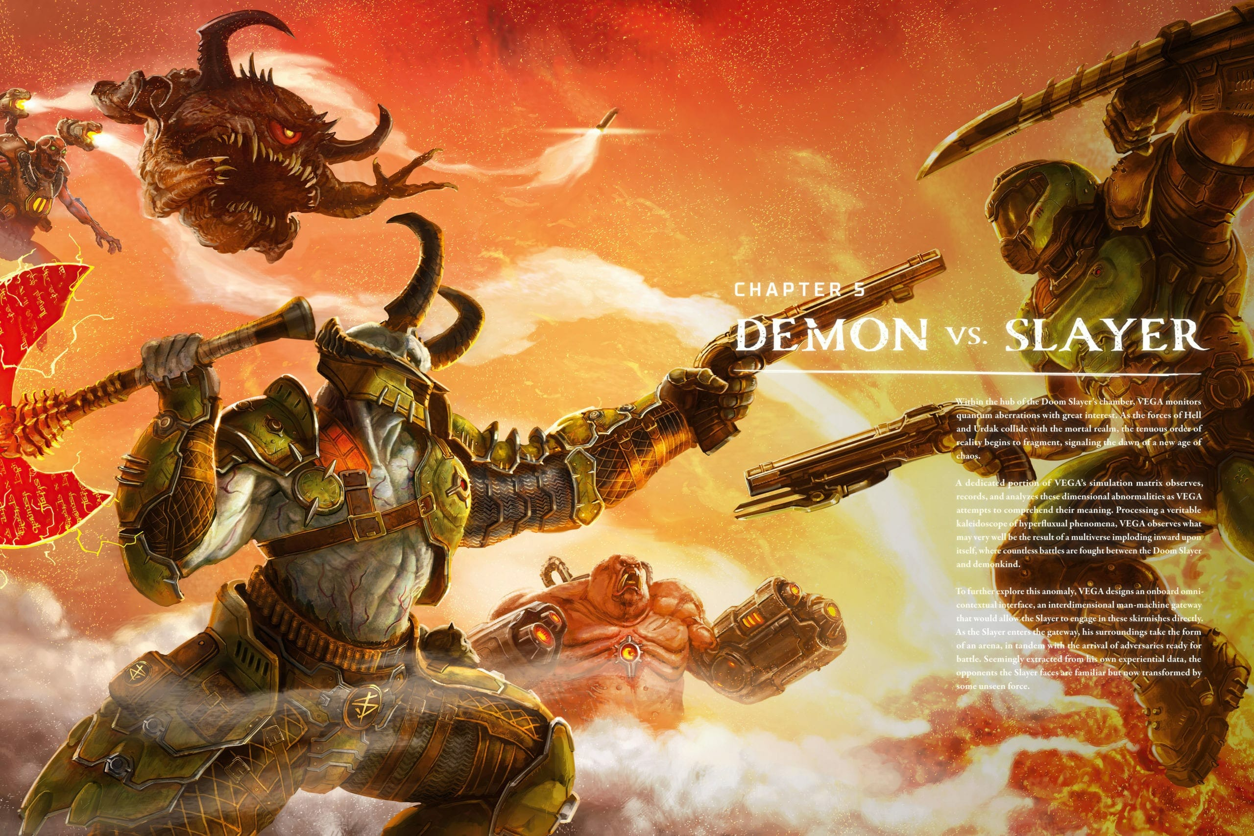 DOOM Eternal Spoiler Images 4 scaled - Doom Eternal Leaked Artbook reveals Massive Spoilers