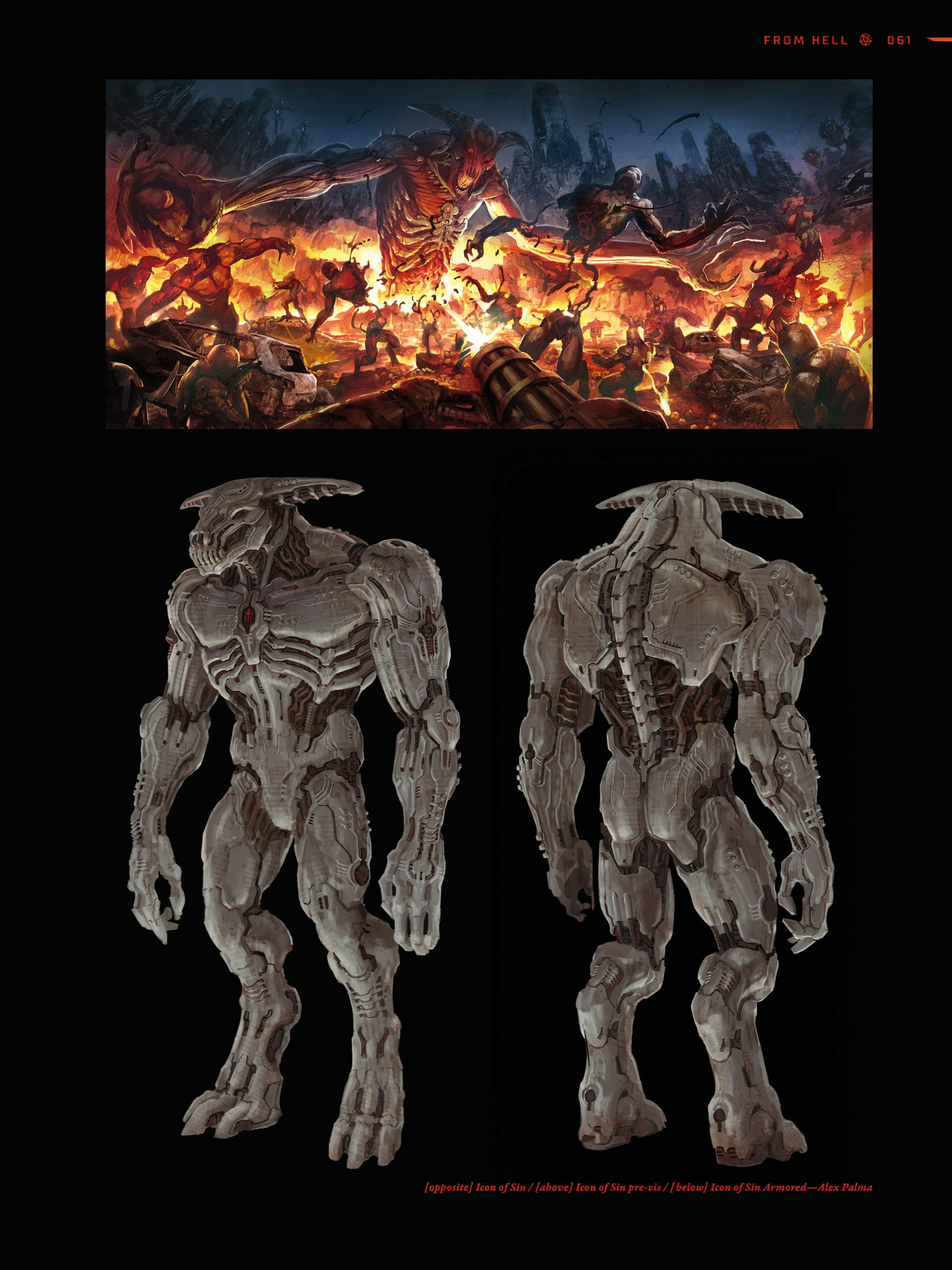 DOOM Eternal Spoiler Images 7 scaled - Doom Eternal Leaked Artbook reveals Massive Spoilers