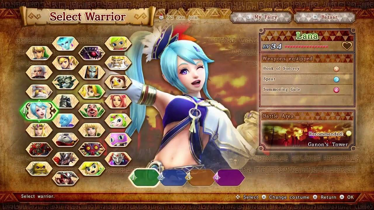 Hyrule Warriors - Best Wii U Cemu Games to play on PC [Wii U Emulator]