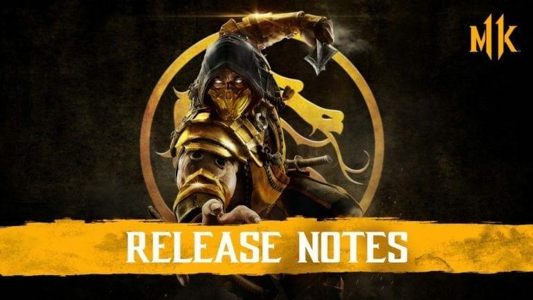 Mortal Kombat 11 PC Patch Notes