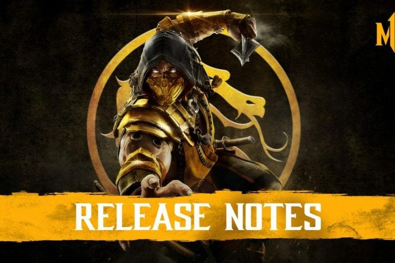 Mortal Kombat 11 PC Patch Notes
