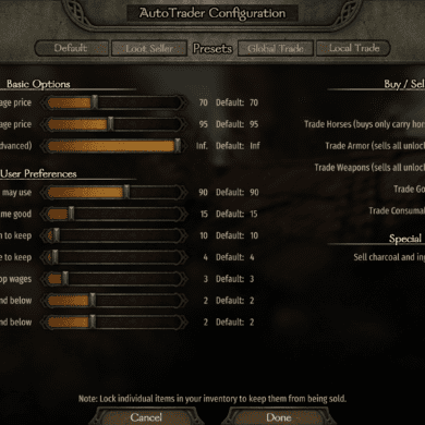 Bannerlord 2 Autotrader Mod