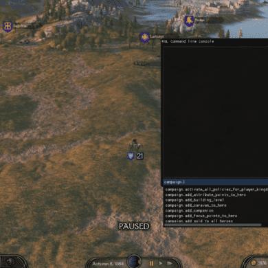 Bannerlord 2 Developer Console Mod