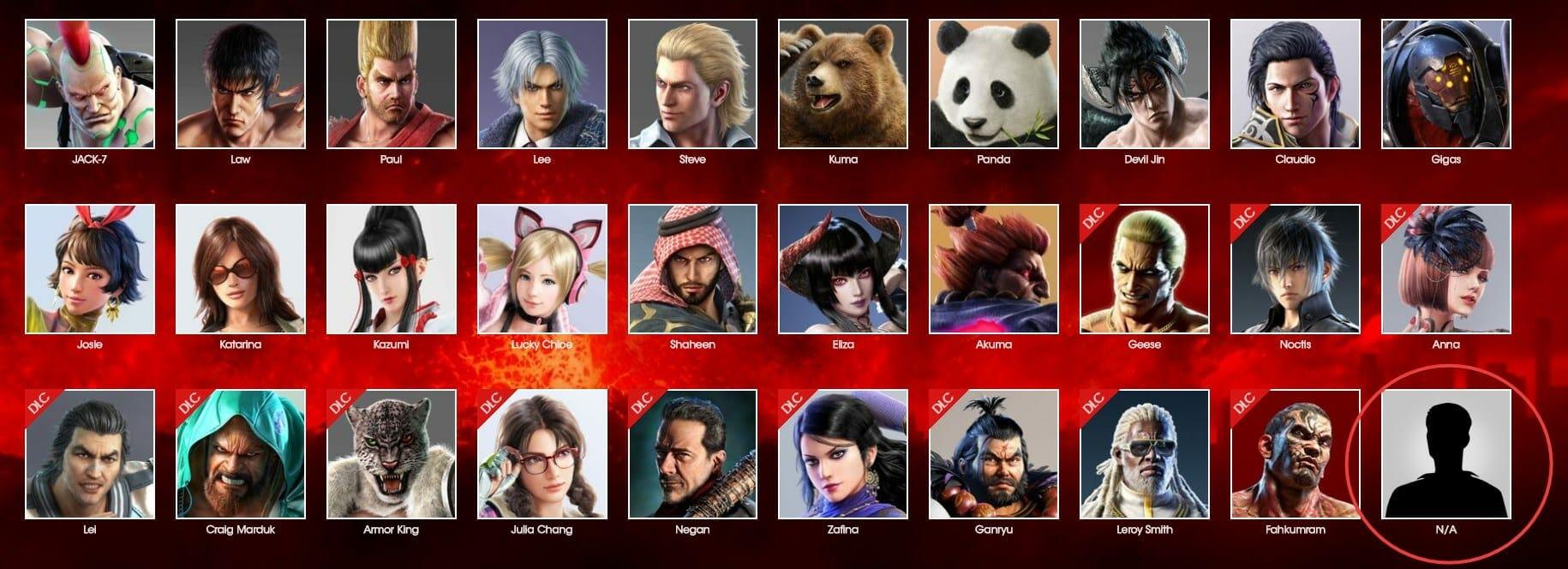 New Tekken 7 Character Teased On Official Website