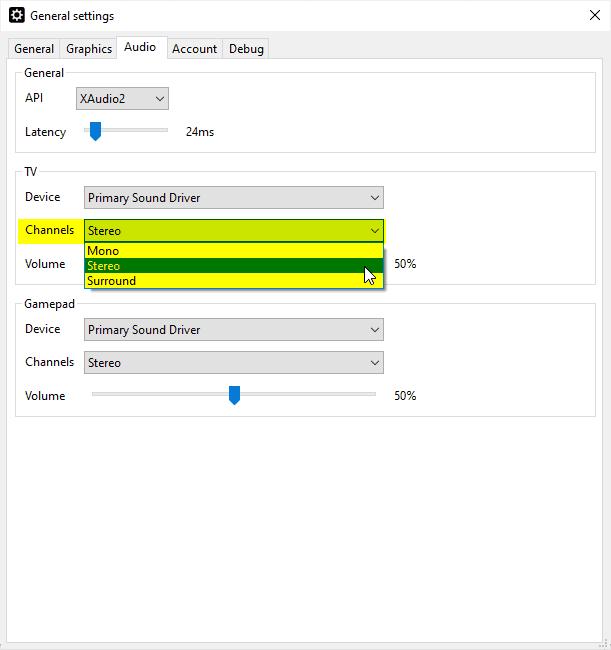 Setup CEMU 1.19.0d