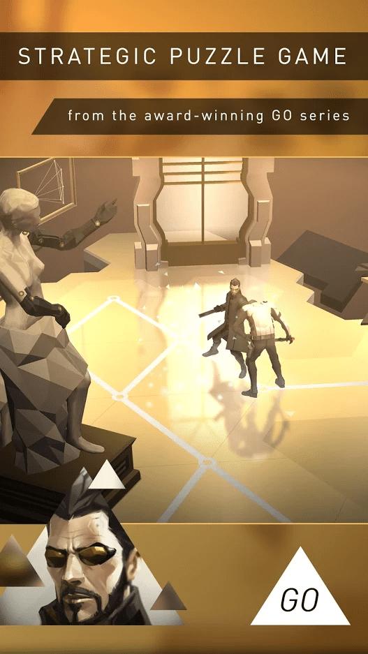 Deus Ex GO screenshot 1