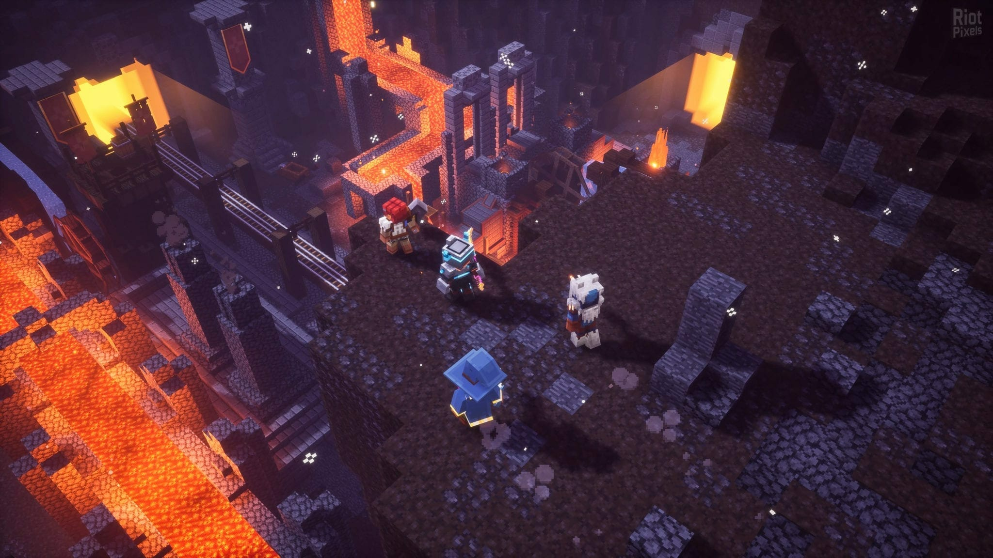 Minecraft Dungeons UltraWide