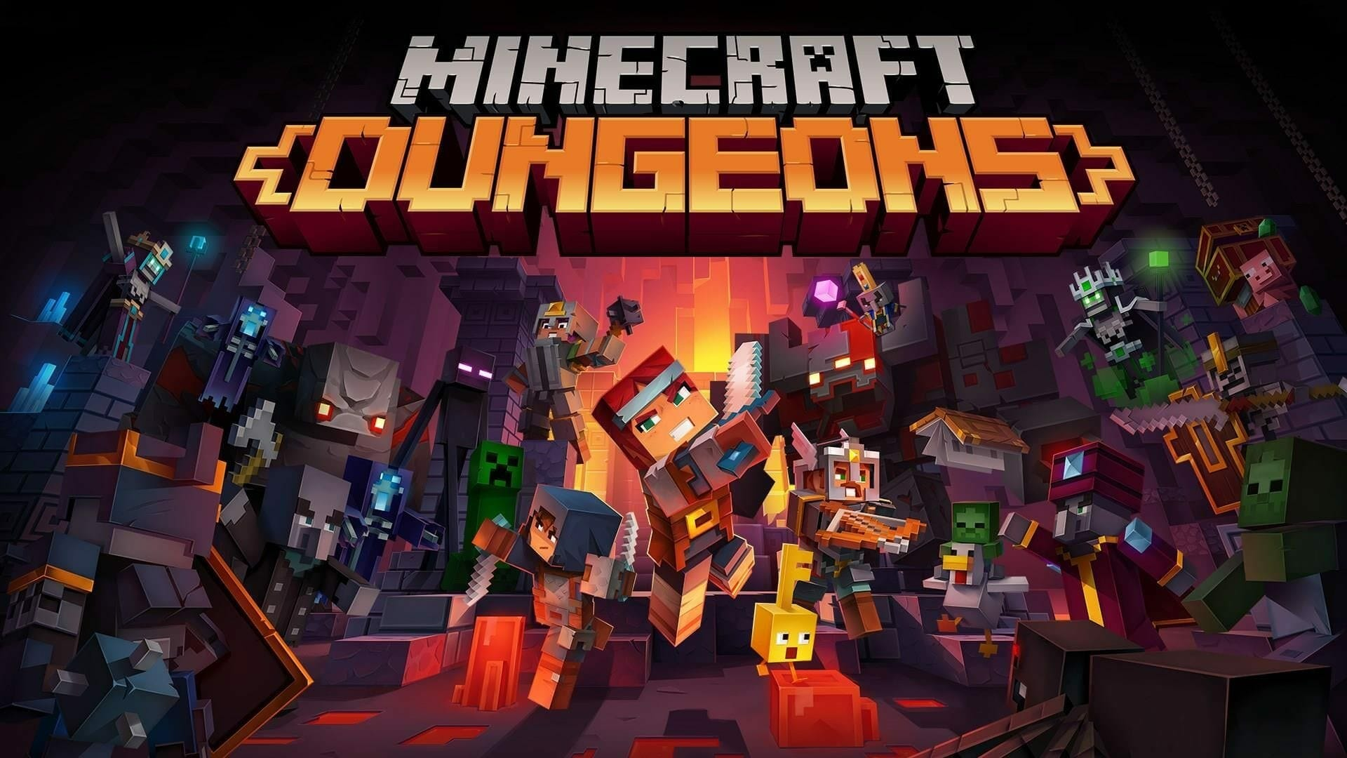 Hero Pass Content in Minecraft Dungeons