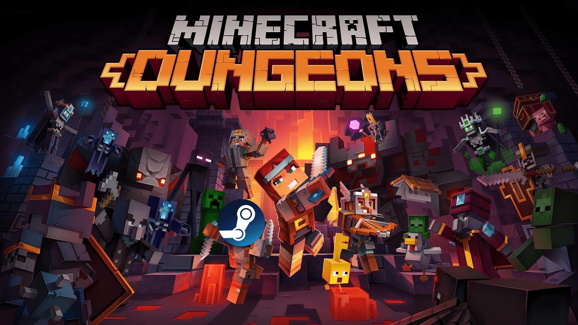 Minecraft Dungeons to Steam
