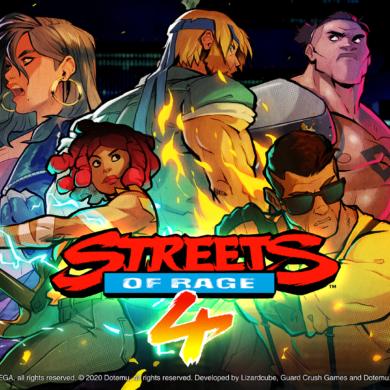 skip Streets of Rage 4 Intro