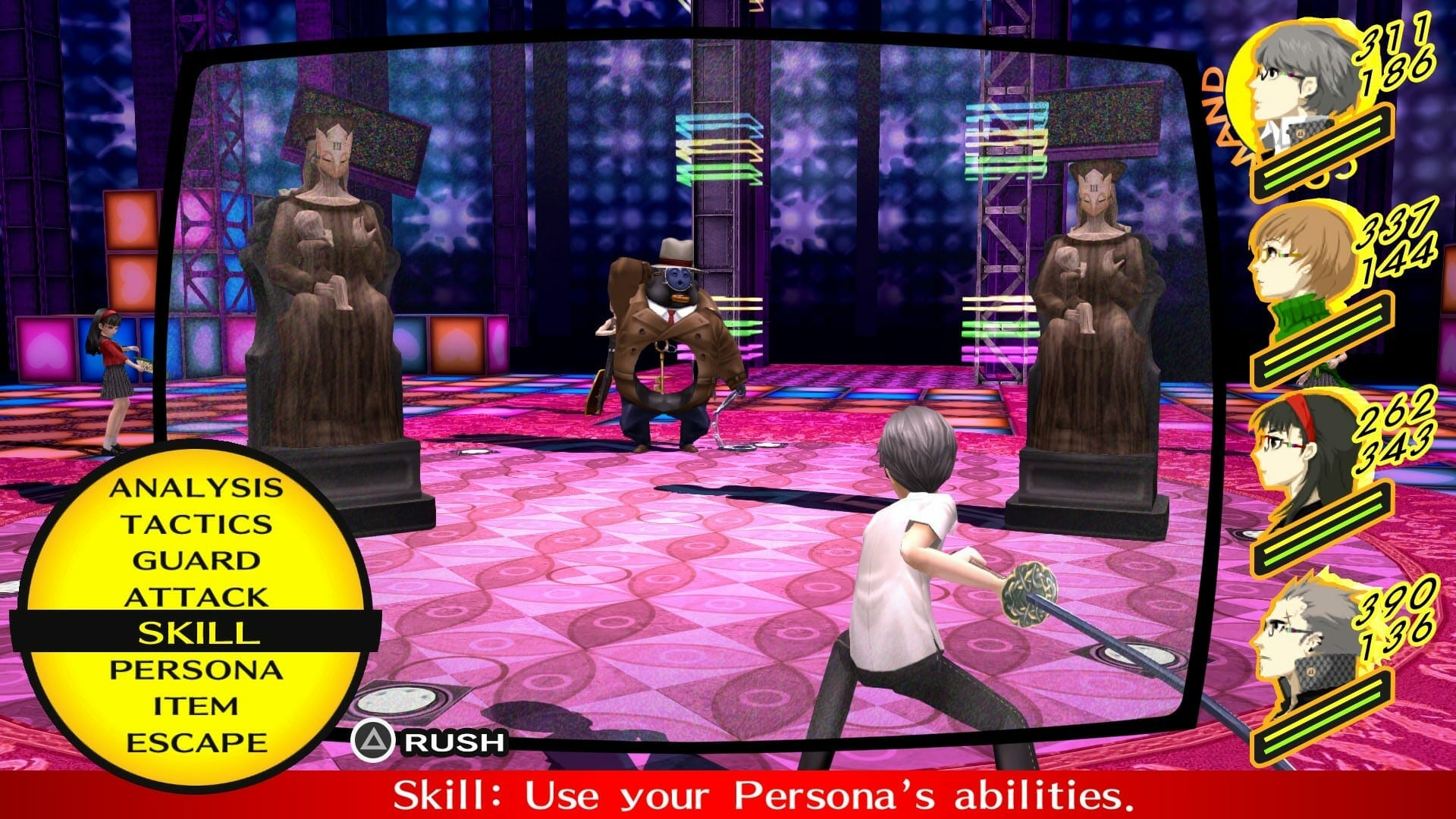Persona 4 Golden Vita Save Files