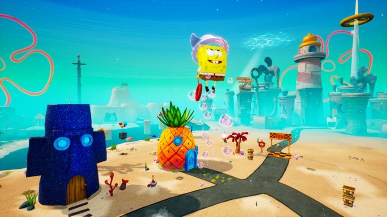 SpongeBob SquarePants Battle for Bikini Bottom Rehydrated Chromatic Abberation