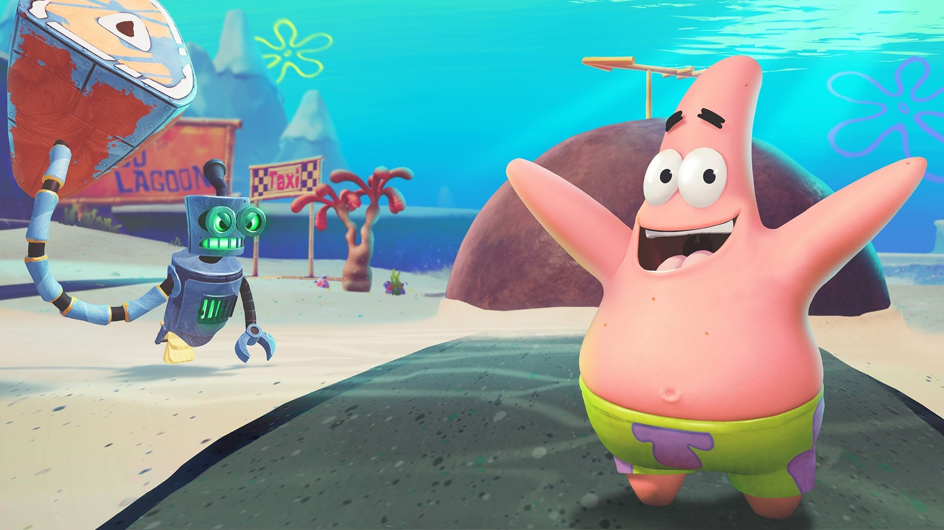 SpongeBob SquarePants Battle for Bikini Bottom Rehydrated Anisotropic Filtering