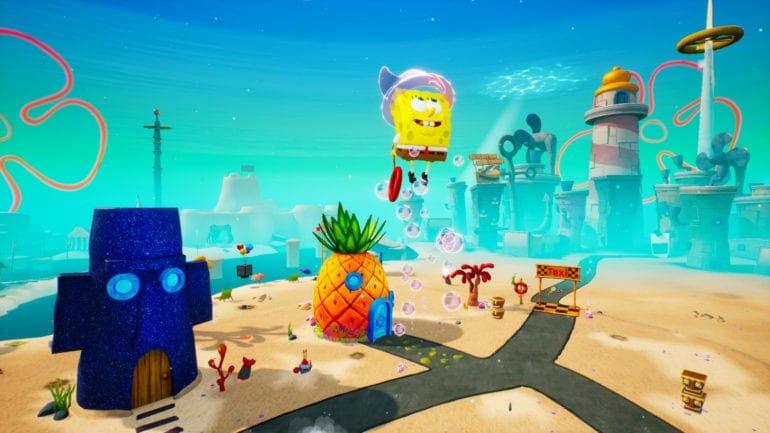 SpongeBob SquarePants Battle for Bikini Bottom Rehydrated FOV