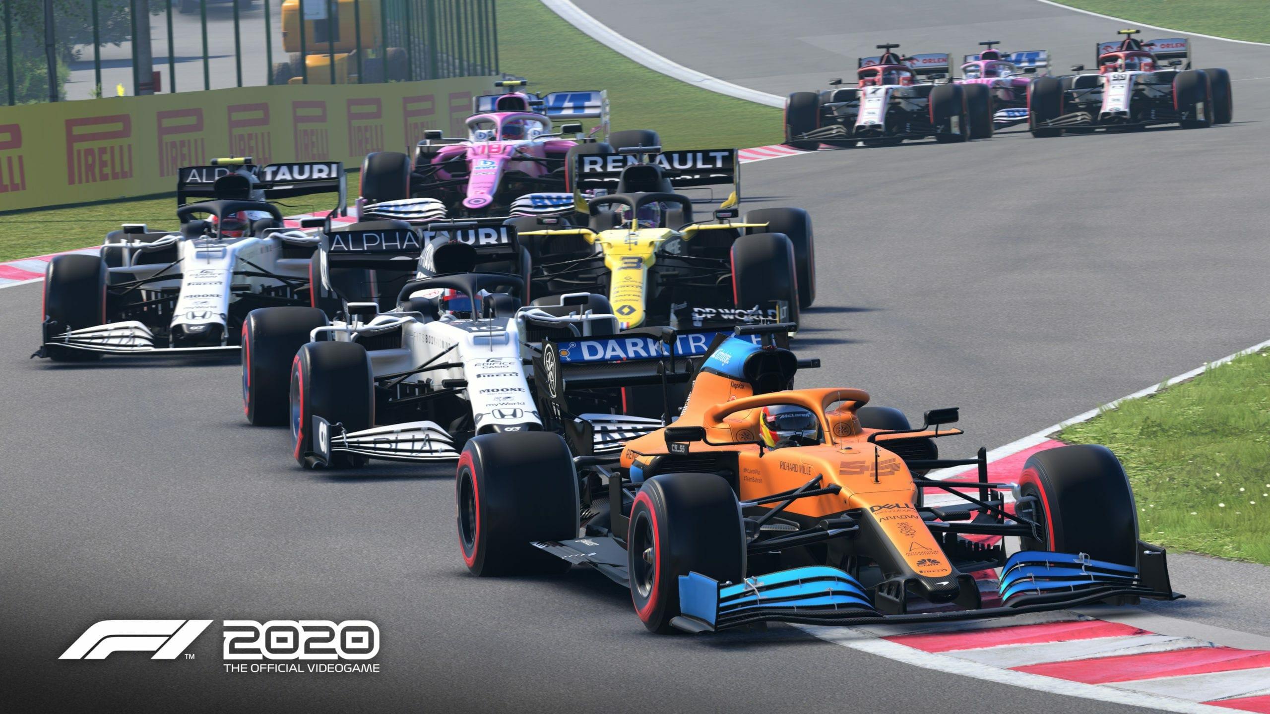 skip F1 2020 Intro