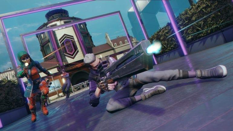 Hyper Scape Crash In Match Lobby