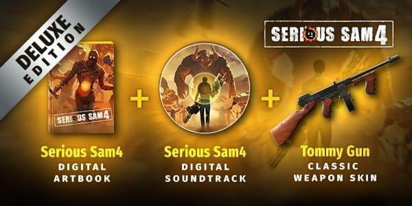 Serious Sam 4 Pre-Order Bonus