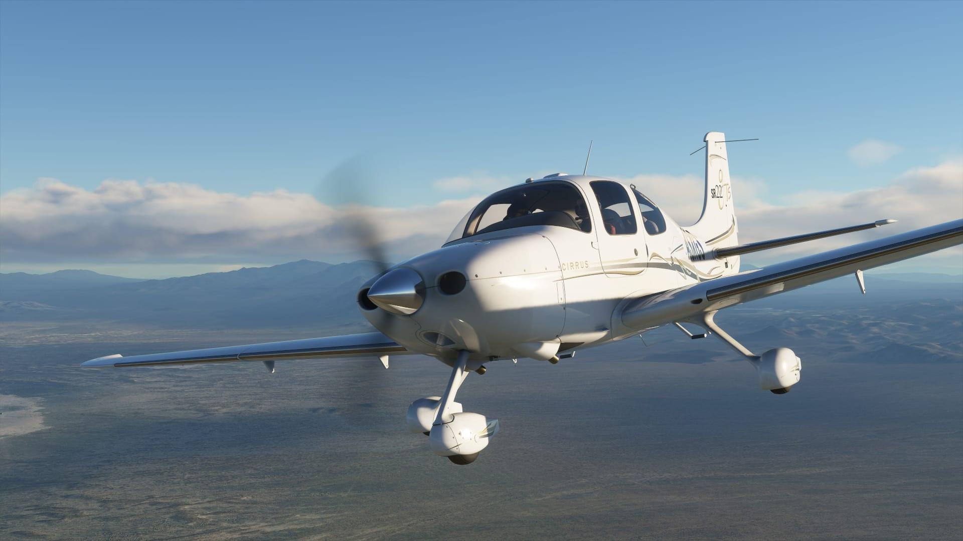Microsoft Flight Simulator Press Any Key