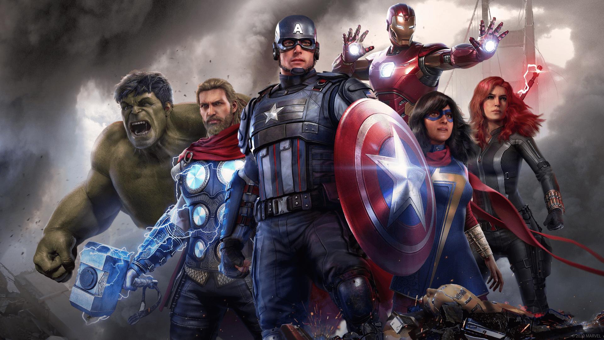 skip Marvel's Avengers Launcher