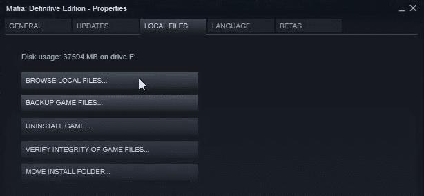 unlock Mafia Definitive Edition FPS