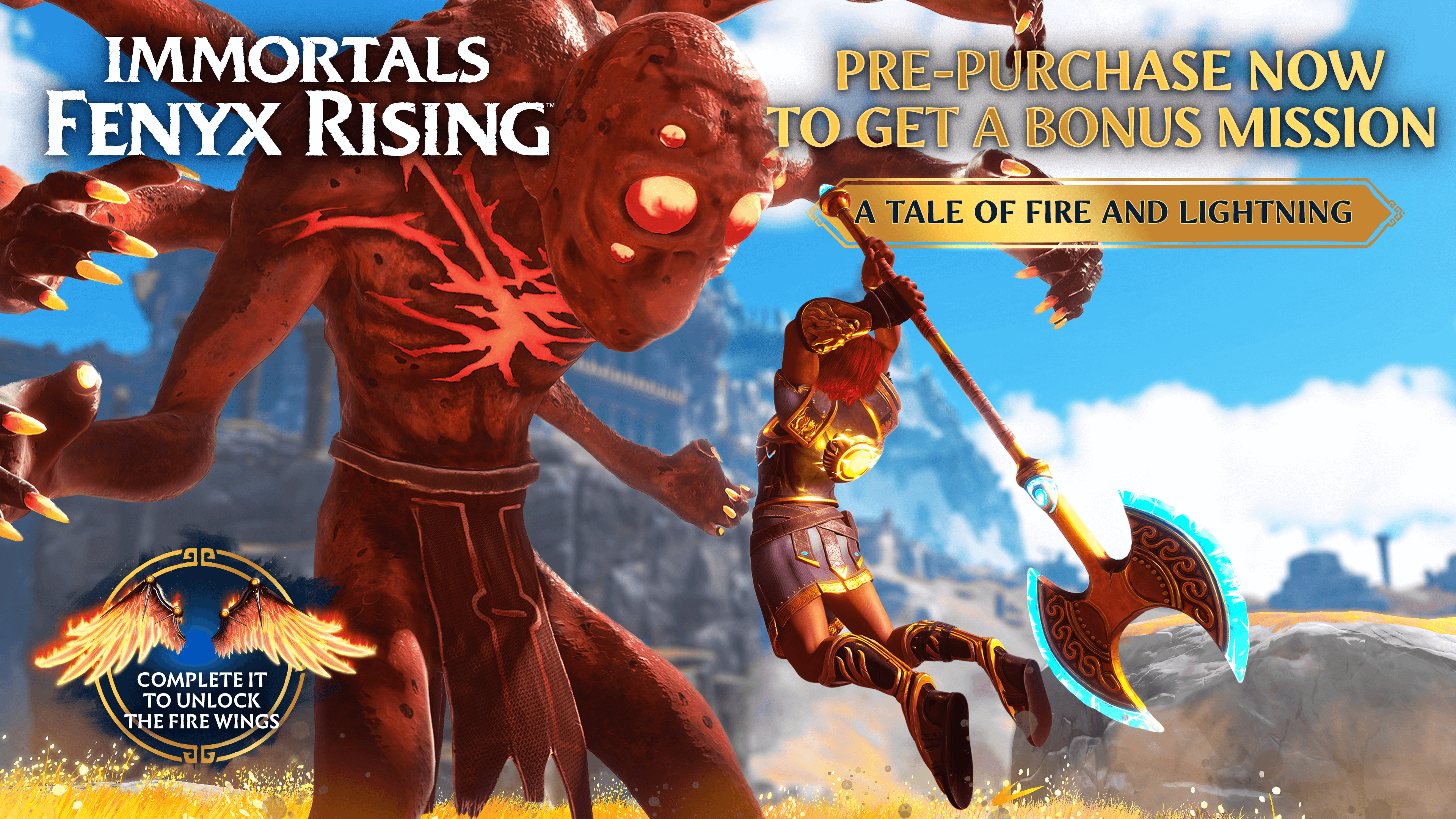 Immortals Fenyx Rising Pre-Order Bonus