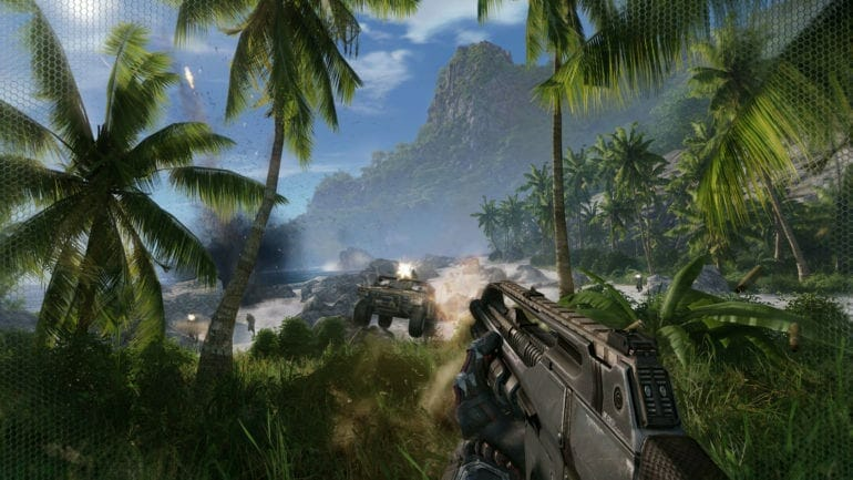 Disable Crysis Remastered Depth of Field