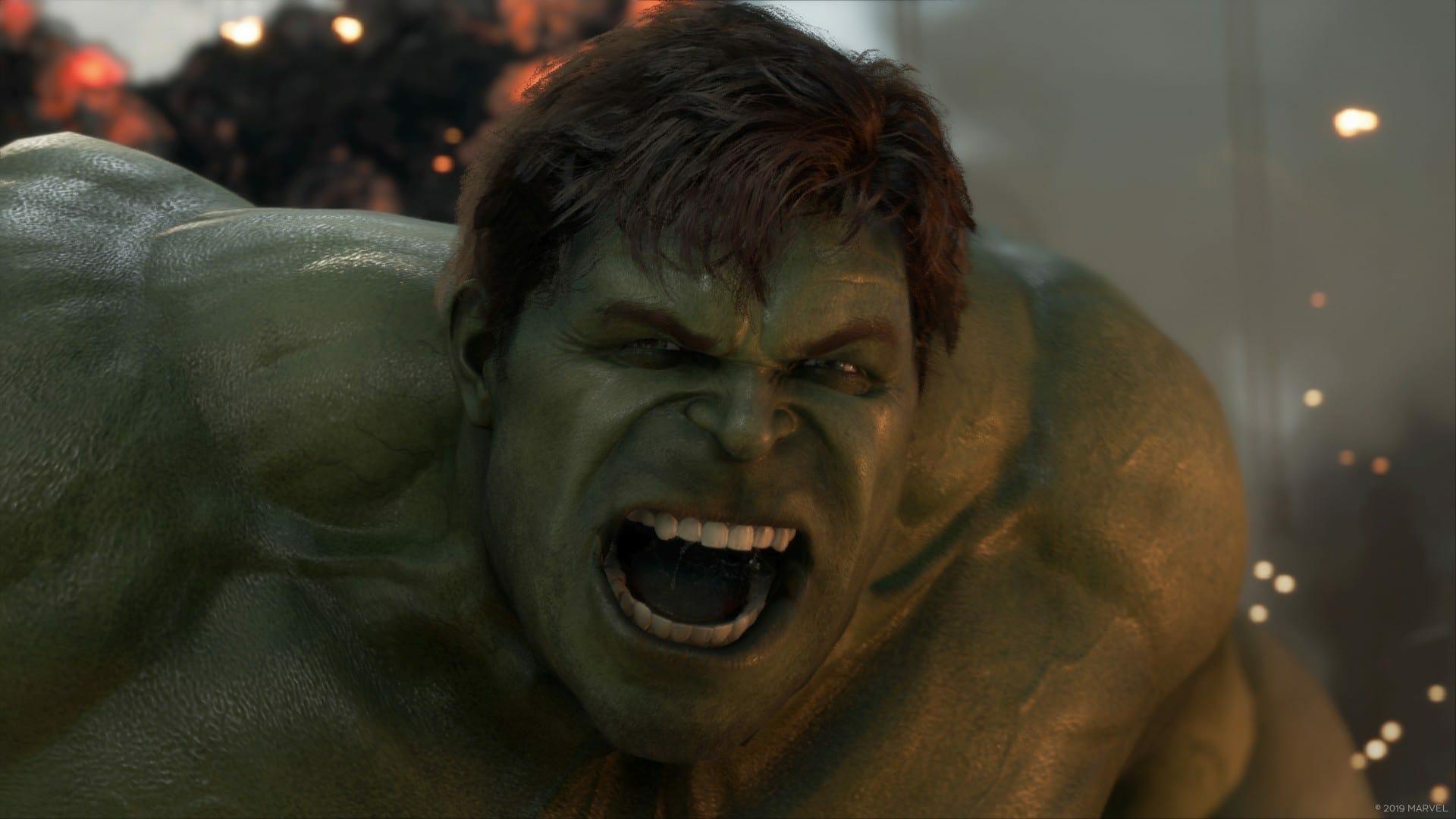 Marvel's Avengers Black Screen