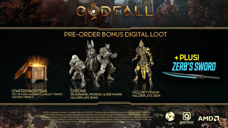 Godfall Pre-Order-Bonus