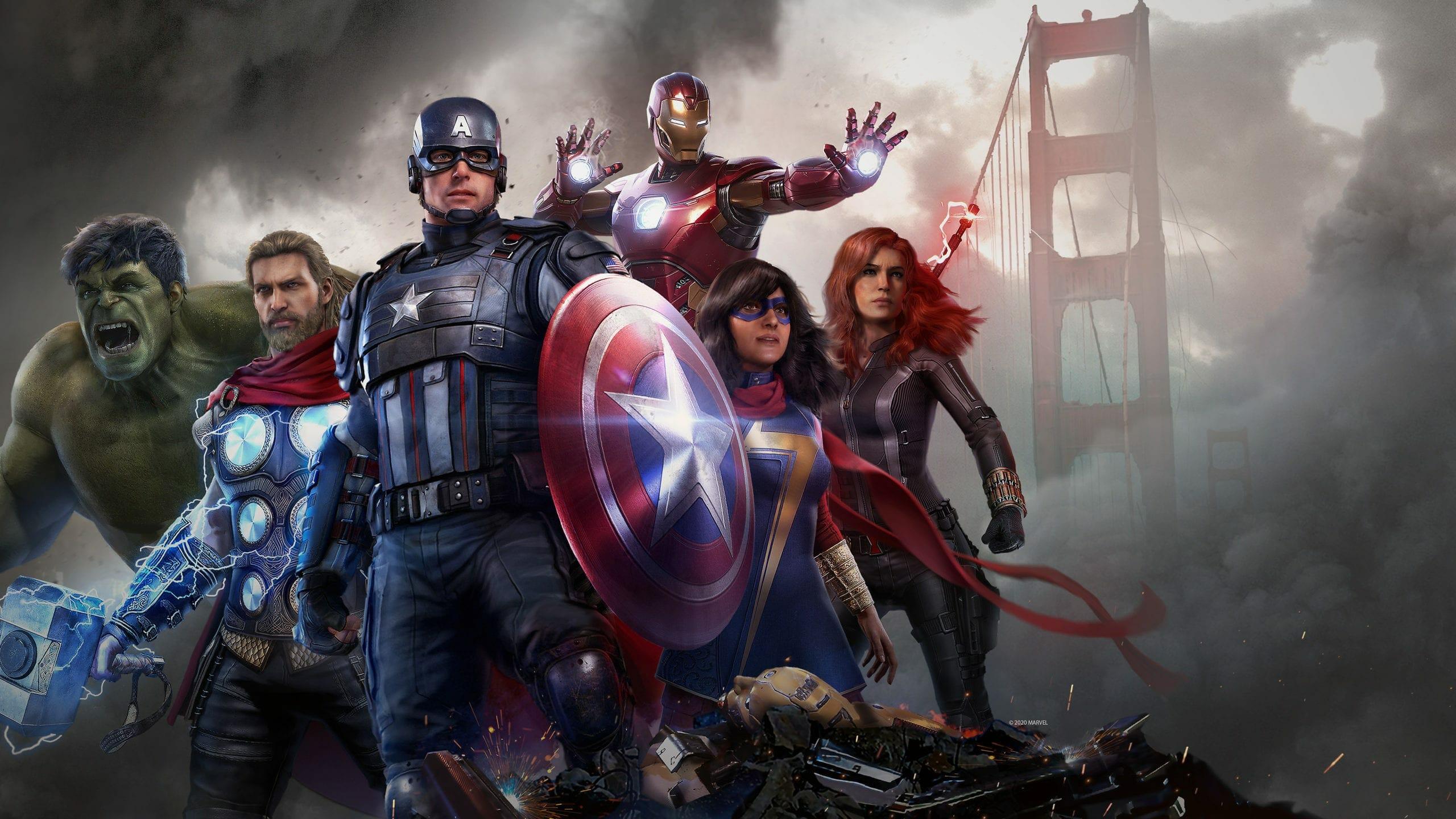 Marvel's Avengers cracked