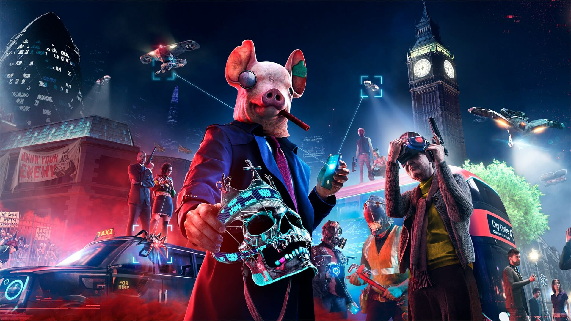 Watch Dogs Legion Crash at launch