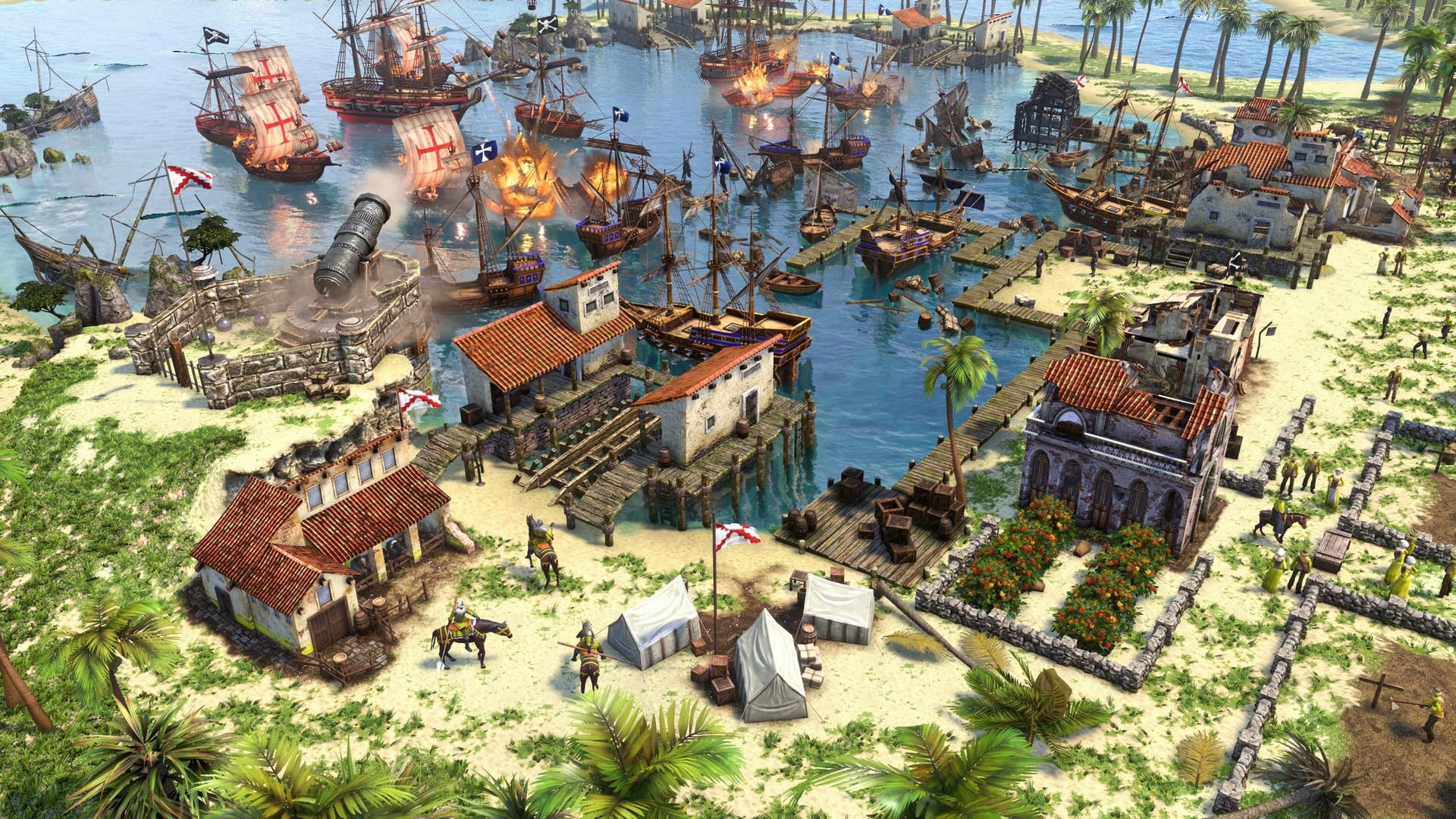 Age of Empires 3 Definitive Edition low FPS