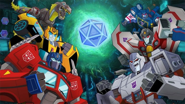Transformers: Battlegrounds today
