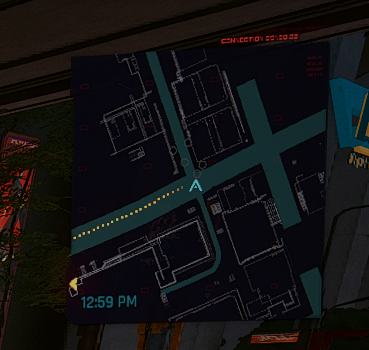 Cyberpunk 2077 better minimap mod