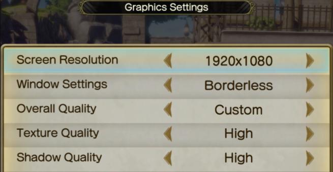 adjust Atelier Ryza 2 resolution