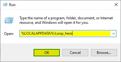 Loop Hero Save Game location