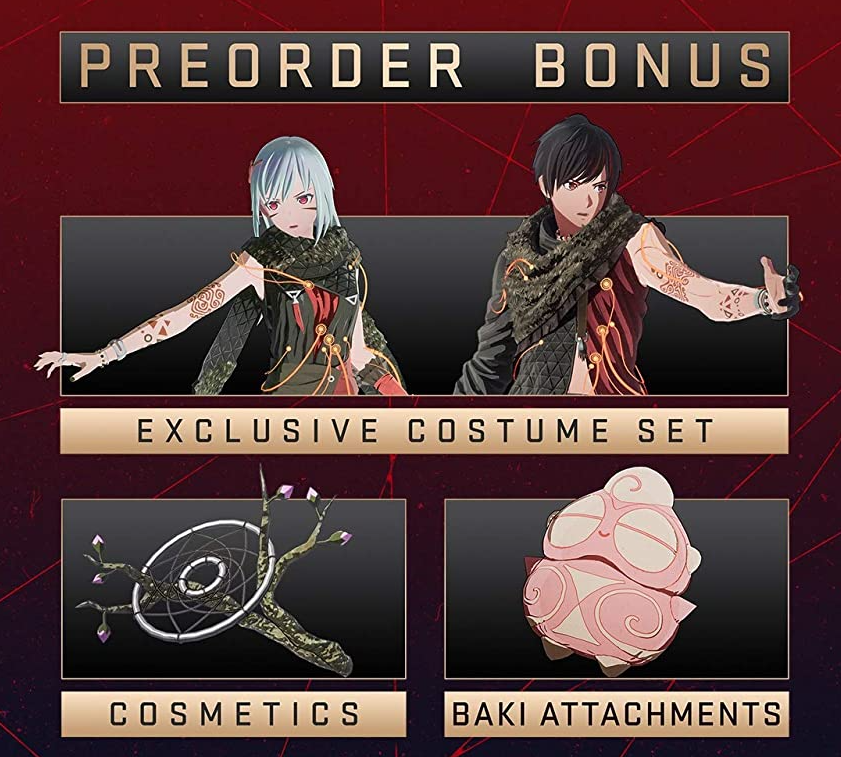 Scarlet Nexus Pre-Order Bonus