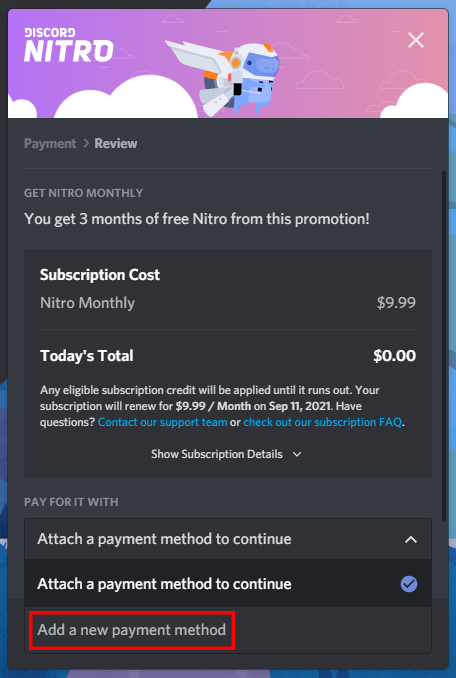 Redeem Discord Nitro For Free Without A Credit Card