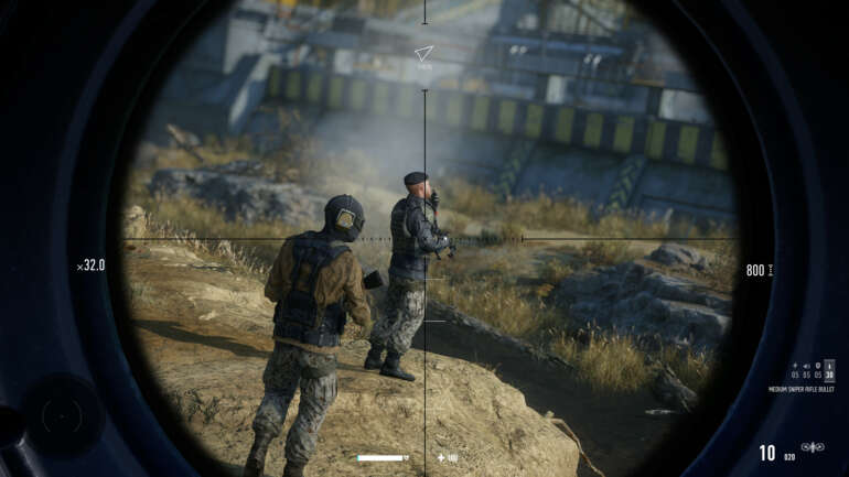 Sharpening In Sniper: Ghost Warrior Contracts 2