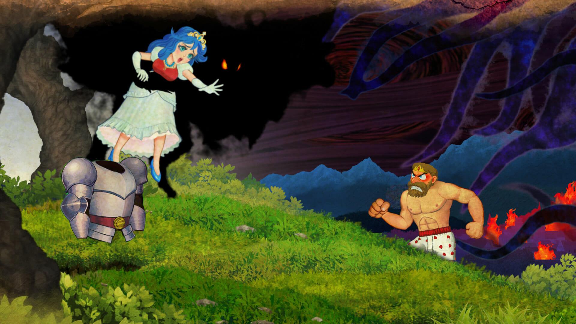 Ghosts 'n Goblins Resurrection Start-Up Crash