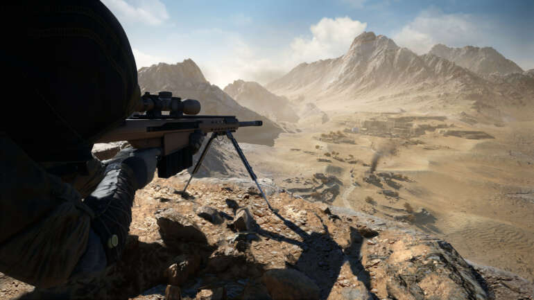 Spanned HUD In Sniper: Ghost Warrior Contracts 2