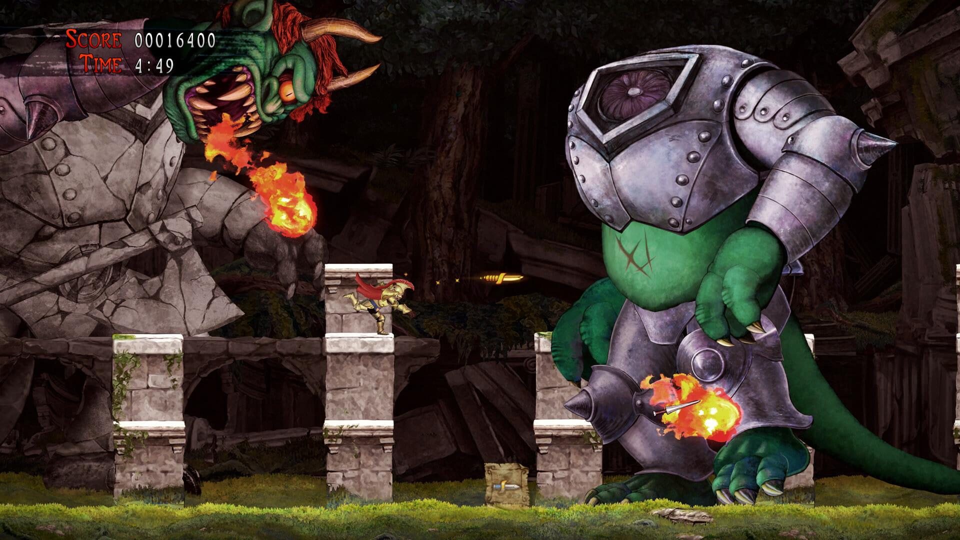 Ghosts 'n Goblins Resurrection Save-Game