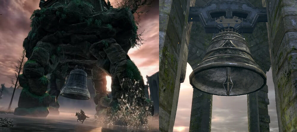 for comparisons of bells from Elden Ring and Dark Souls