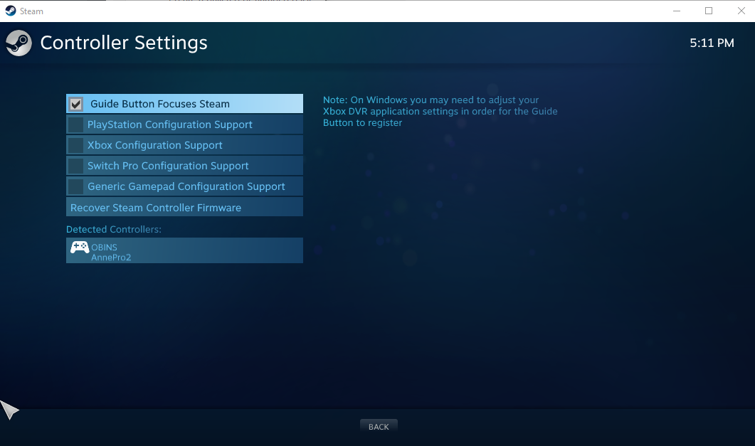 Playstation configuration support for Wrong Button Prompts