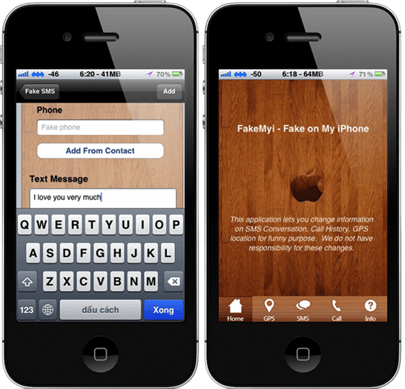 how to see call log on iphone