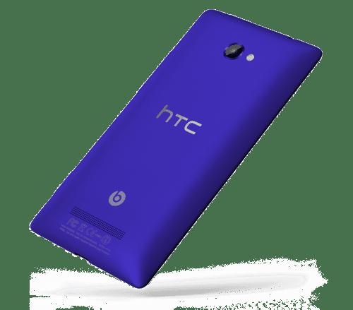 HTC WP 8X back