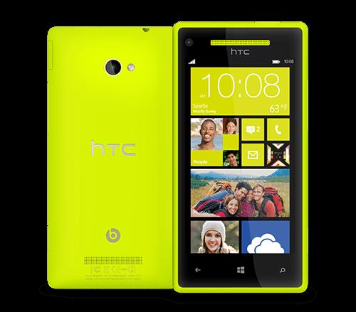 HTC WP 8X Yellow