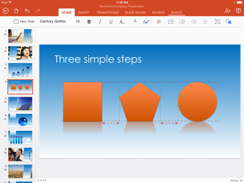 PowerPoint-for-iPad-SmartGuides